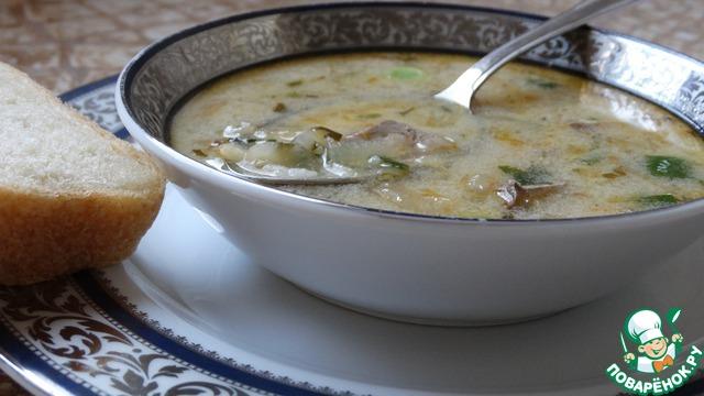 Суп из потрашков куриных рецепт