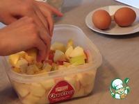 """Яблочный пирог """"Невесомость"""" ингредиенты"""