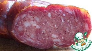 брауншвейгская колбаса домашний рецепт