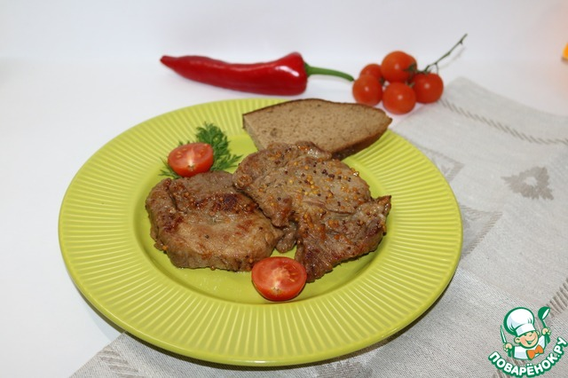 свинина горчичном соусе рецепт фото