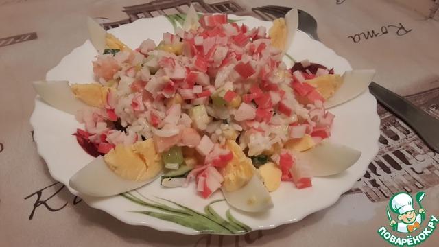 крабовые палочки салат без риса рецепт классический