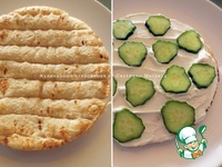 Соленый торт с беконом, яйцами и овощами ингредиенты