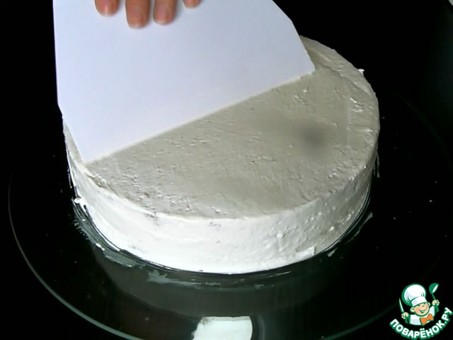 Крем из взбитых сливок с желатином