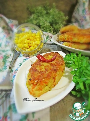 Рецепт: Овощной бифштекс