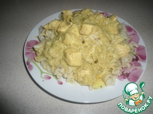 Рецепт: Курица карри в молоке