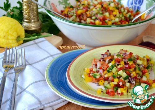 Салат из гречки с консервами