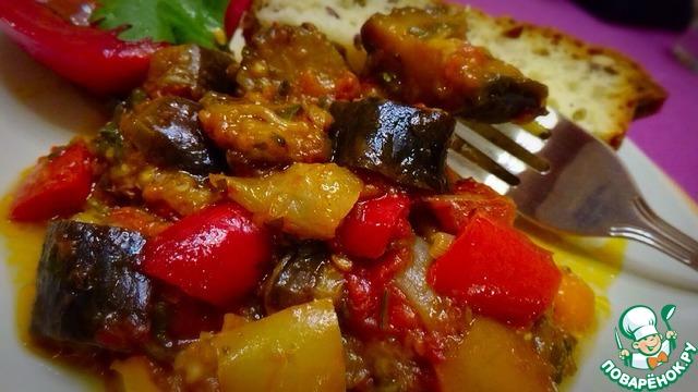 Аджапсандали погрузински  пошаговый рецепт с фото на