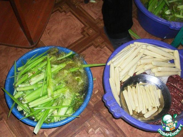 Салат картошка по-корейски с мясом рецепт с фото
