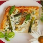 Летний пирог в итальянском стиле