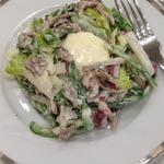 Салат с телятиной, редисом и перцем