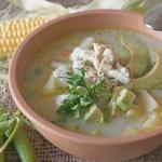"""Эквадорский картофельный суп """"Локро де папас"""""""