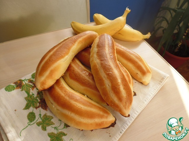Как сделать бананы с начинкой