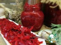 Икра из свёклы и моркови ингредиенты