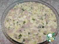 Заливной пирог с курицей и кабачком ингредиенты