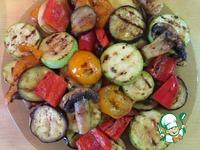 Овощи на сковороде-гриль ингредиенты