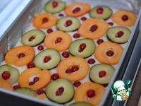 Быстрый летний пирог ингредиенты