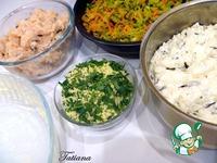 Рисовая запеканка с курицей и овощами ингредиенты