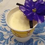 Настоящее сливочное мороженое на желтках