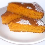 Морковный пирог Рыжик