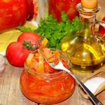 Салат из кабачков или патиссонов на зиму