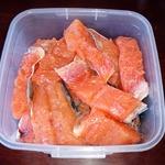 Соленая красная рыба за 40 минут
