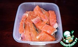 через сколько можно есть соленую рыбу красную