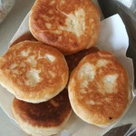 Жареные пирожки с картофелем и луком