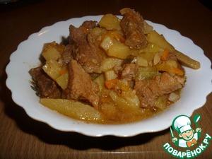 азу в мультиварке из говядины без картофеля рецепт с фото
