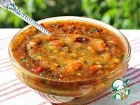Мой любимый соус из свежих слив ингредиенты