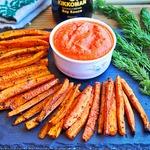 Томатный соус-дип к моркови фри