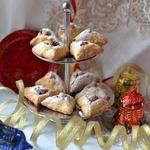"""Печенье """"Новогоднее"""" с ореховой начинкой"""