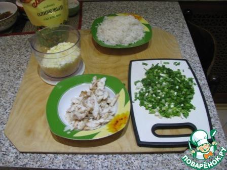 копчения Салат с поваренок горячего рыбой