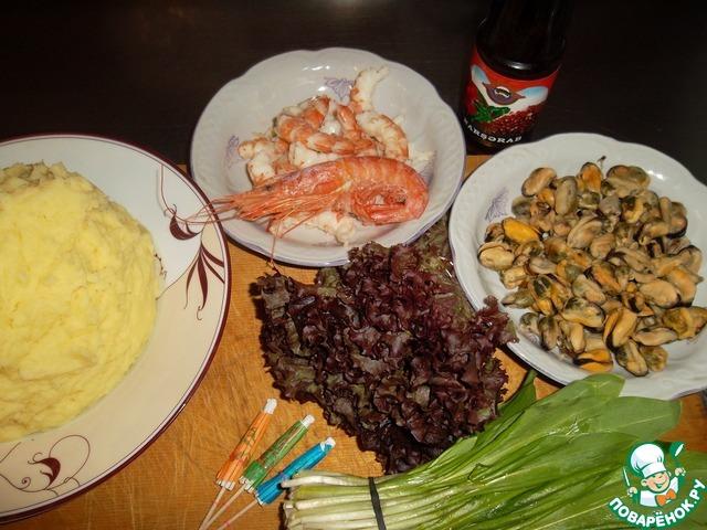 креветки рецепт правильное питание