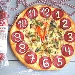 """Пицца """"Часы"""""""