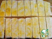 Слоеные палочки с сыром и беконом ингредиенты