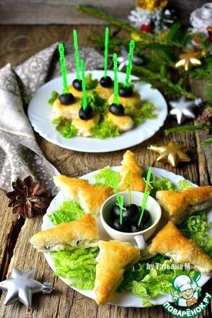 закуски из творога новогодние рецепт
