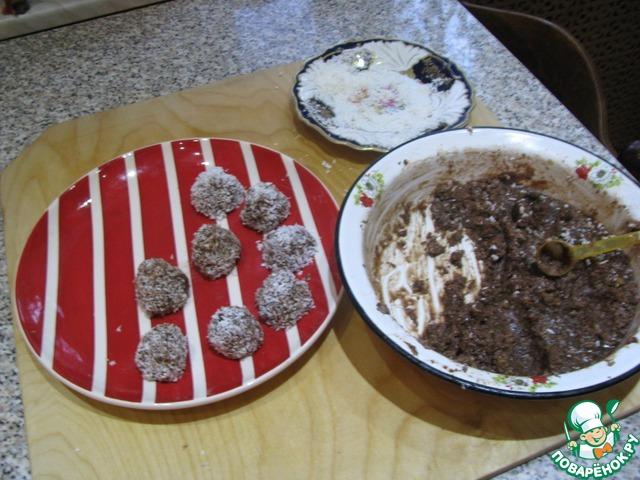 конфеты из смеси малютка рецепт