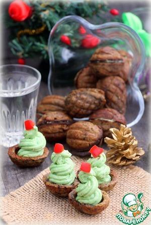 Паштет сало-авокадо в хлебных орешках
