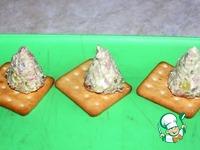 """Закуска """"Елочки на крекере"""" ингредиенты"""