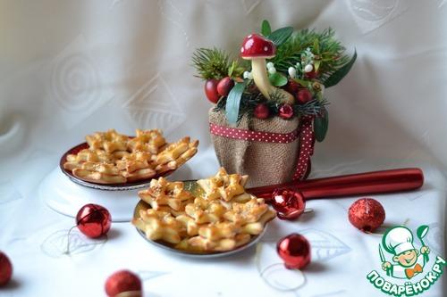 """Печенье """"Новогоднее"""" с колбасой"""