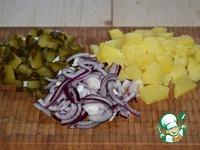 """Картофельный салат """"Минутное дело"""" ингредиенты"""