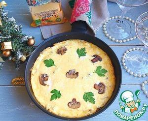 Рецепт: Грибной жульен на сковороде