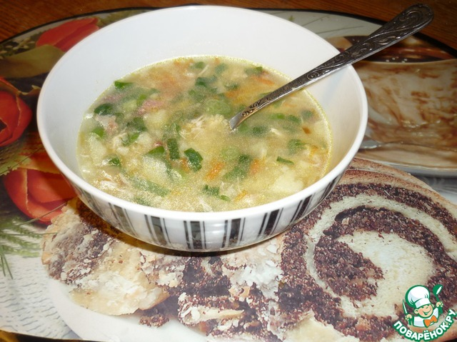 рецепты суп с кукурузной крупой рецепт