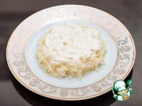 """Салат """"Мимоза"""" с сыром и красной рыбой ингредиенты"""