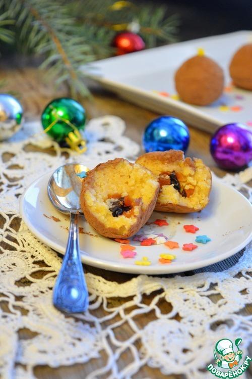 """Самое новогоднее пирожное """"Картошка"""""""