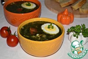 суп со шпинатом замороженным рецепт для детей