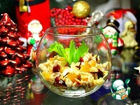 """Салат """"Новогодний девичник"""" ингредиенты"""