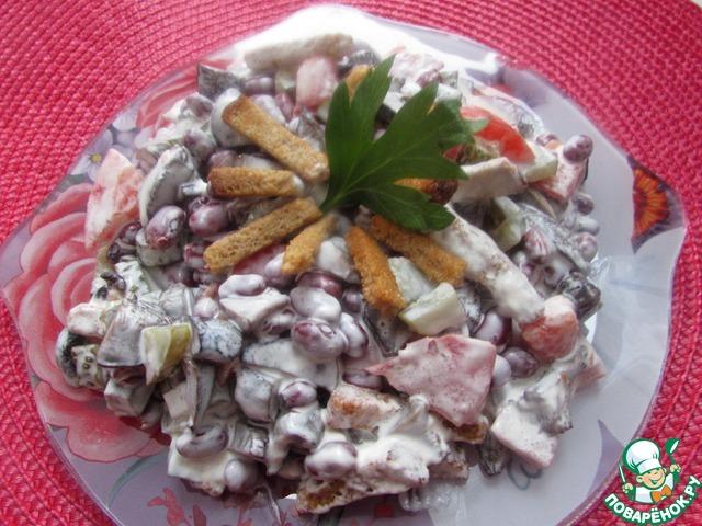 Вежие и вкусные салатики с фото