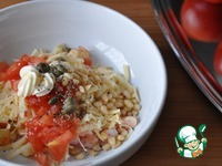 Сырный салат в помидорах ингредиенты