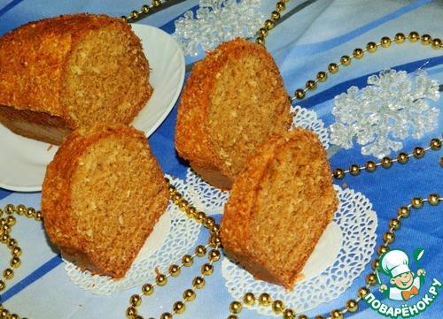 Кекс с кокосом рецепт